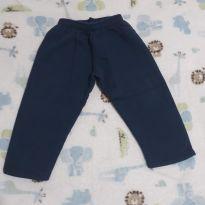 Calça de moletom azul 4! - 2 anos - Alemara Malhas
