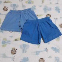 shorts de malha combo - 18 a 24 meses - Não informada