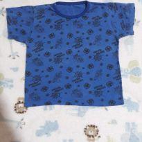 Camisa de pijama spider man - 9 a 12 meses - Não informada