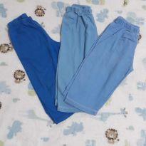 Combo calças confortáveis - 1 ano - Não informada