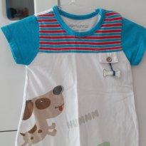 Macacao Banho de sol menino - 9 a 12 meses - Alphabeto