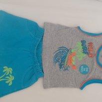 Conjunto verão menino - 3 a 6 meses - Baby Way