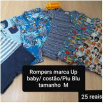 Rompers fofos - 3 a 6 meses - Up Baby e Keko Baby