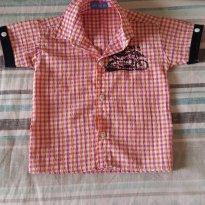 Camisa - 12 a 18 meses - Pedrozinha