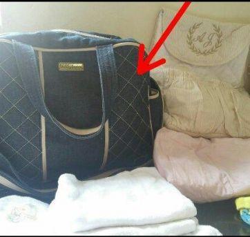 Bolsa Maternidade jeans Teddy Boom - Sem faixa etaria - Teddy Boom