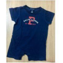 Macaquinho Ralph Lauren Azul Marinho -Tam 6 a 12 meses - 9 a 12 meses - Ralph Lauren