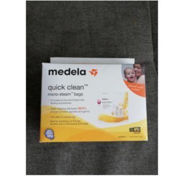 Bolsa Esterilizadora para Micro-ondas Medela Quick Clean - Sem faixa etaria - Medela