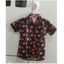 Camisa Festa Mickey - 2 anos - Não informada