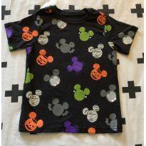 Camiseta Halloween Mickey - 4 anos - Disney