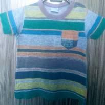 Camiseta Infantil Masculino Listrada Malwee - 1 ano - Malwee