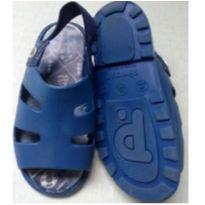 Sandalia Infantil Menino Azul - 24 - Pimpolho