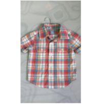 Camisa xadrez Gap - 12 a 18 meses - Baby Gap