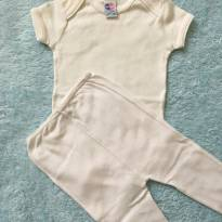 Conjunto Tip Top Body + Calça P - 3 meses - Tip Top