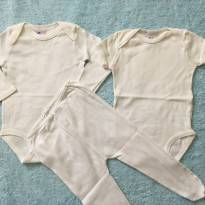 Conjunto Tip Top 2 Body + Calça P - 3 meses - Tip Top