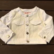 Jaqueta Rendada Branca - 3 anos - Pituchinhus