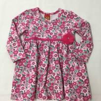 Vestido Florido Kyly - 1 ano - Kyly