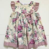 Vestido Rodado Floral - Donatela - 2 anos - Não informada