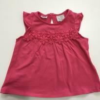 Camiseta Rosa Zara - 18 a 24 meses - Zara