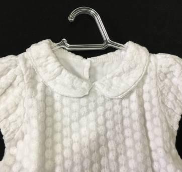 Vestido de Festa Branco Beth Bebê - 2 anos - Beth Bebê