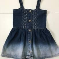 Vestido Jeans Baby Club - 24 a 36 meses - Baby Club
