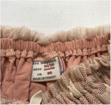Saia Estrelas Rosê Zara - 12 a 18 meses - Zara