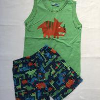 Pijama Dinos Puket - 4 anos - Puket