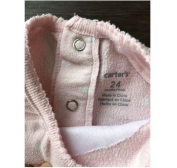 Pijama em Fleece Gatinha Carter`s - 2 anos - Carter`s