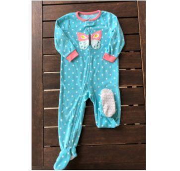 Pijama em Fleece Borboleta Carter`s - 2 anos - Carter`s