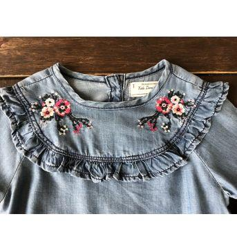 Vestido Jeans Kids Denim Renner - 2 anos - Kids Denim Girls