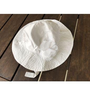 Chapéu de Praia Carter`s Branco - 18 meses - Carter`s