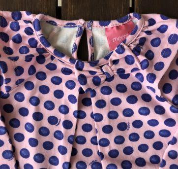 Camiseta Batinha Mangas Longas Bolinhas - 2 anos - Momi