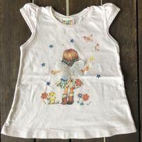 Camiseta Fadinha Rosa - 1 ano - Have Fun