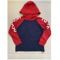 Camiseta Capuz Marinho e Vermelha OshKosh B'gosh - 5 anos - OshKosh