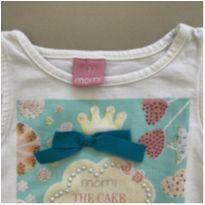 Camiseta Laço Momi - 2 anos - Momi
