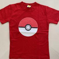 Camiseta Pokemon - 8 anos - Não informada