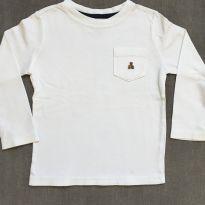 Camiseta Branca GAP - 4 anos - GAP