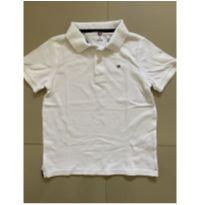 Camisa Polo Branca Tommy Hilfiger - 6 anos - Tommy Hilfiger