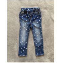 Calça Jeans Corações GAP - 4 anos - GAP