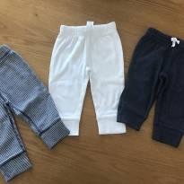 Combo 3 calças carters - 9 meses - 9 meses - Carter`s