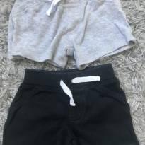 Kit shortinhos algodão - 6 meses - 6 meses - Carter`s