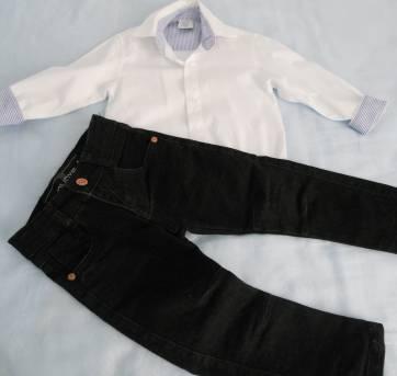 Conjunto infantil  social - 1 ano - DUDYS BOY e Sylvaz
