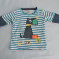 Blusa infantil - 2 anos - Randa Mundu