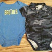 dupla de bodys - 18 meses - Carter`s