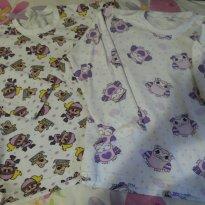 pijama corujinhas - 10 anos - Várias