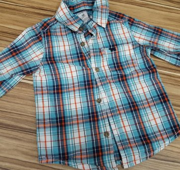 Camisa xadrez - 18 meses - Carter`s