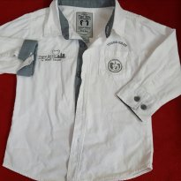 Camisa Tigor branca - 18 meses - Tigor T.  Tigre