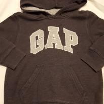 Agasalho baby gap cinza - 2 anos - Baby Gap