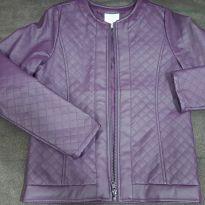 Jaqueta marisol cor roxa - 10 anos - Marisol
