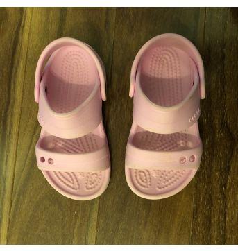 Sandália crocs rosa - 25 - Crocs