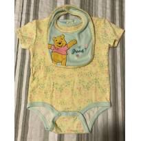 Conjunto bebe menina Disney - 6 a 9 meses - Disney